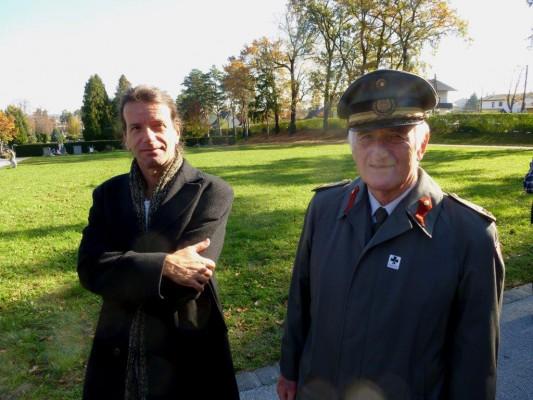 Heimo Halbrainer und Oberst Oswald