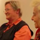 Unsere Zeitzeuginnen berichten über das Kriegsende in der Oststeiermark beim Dreh vom BAKIP Hartberg