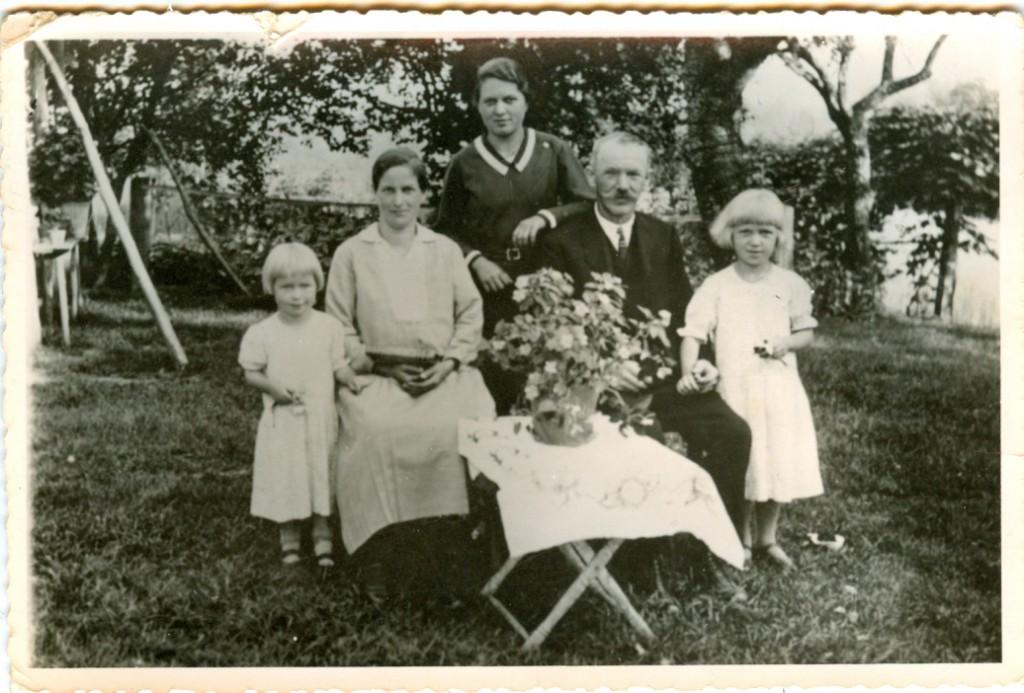 Familie in den 1940ern. Quelle: Johanna Janko