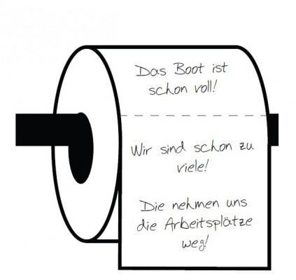 WC Papierrolle