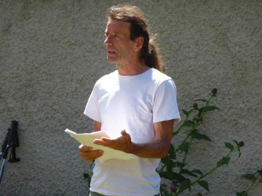 Heimo Halbrainer referierte den Partisanenkampf