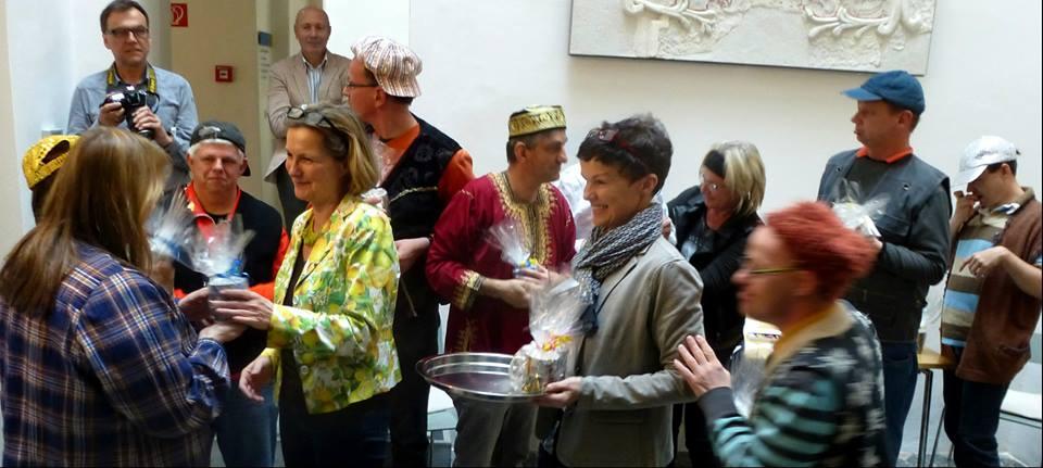 Der Lichthof in Trautenfels: ein idealer Ort, um über Heimat zu diskutieren
