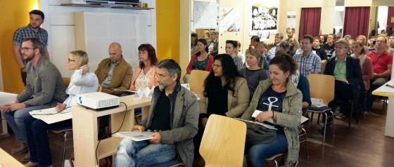 Das versammelte Plenum beim Regionext-Tag