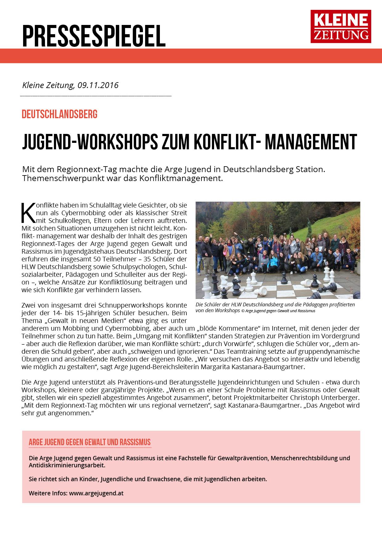Kleine Zeitung Regionext Deutschlandsberg